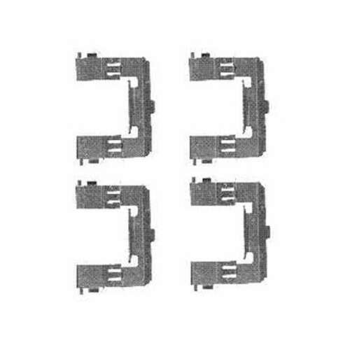 Genuine Delphi Front Brake Pad Accessory Kit LX0452