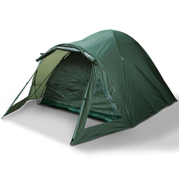 NGT due uomo doppia pelle impermeabile Tenda da campeggio Bivvy pesca con Materassino a terra