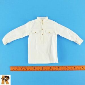 White Long Sleeve Shirt 1//6 Scale Alert Line Figures Red Army Senior Officer