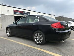 2006 Infiniti G35X, AWD, Heated Seats, Navi, leather