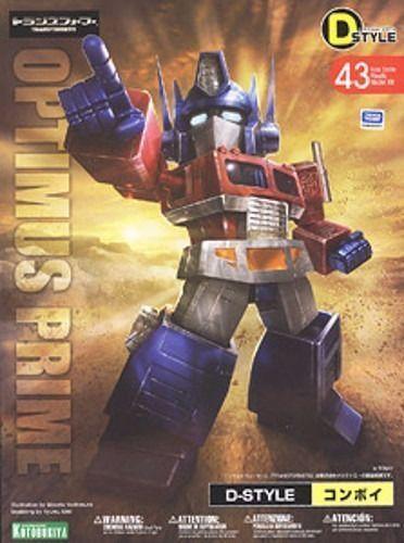 Kotobukiya Transformers D-Style 43 Optimus Prime (Convoy) Kit Modélisme Nouveau