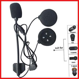 FreedConn Motorcycle Helmet Speakers Headset with Hard Corded Microphone Series