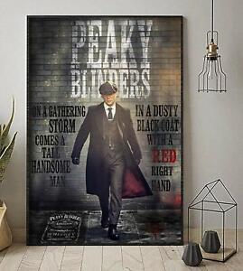 No Frame PEAKY BLINDERS  TV POSTER Photo Poster Print Art