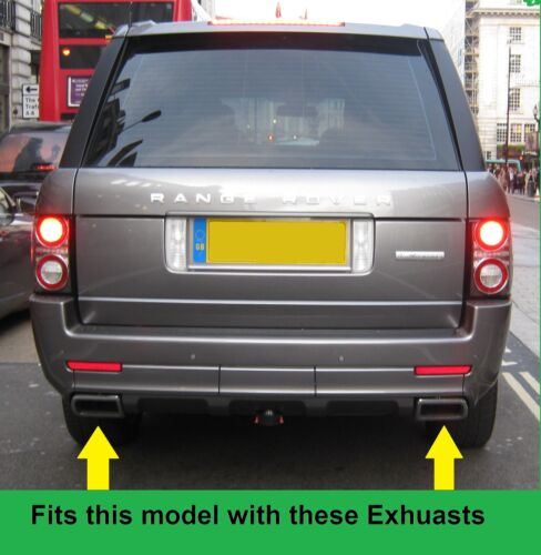 Rear back mudflap kit for Range Rover L322 Autobiography Exterior Design pack