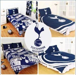 OFFICIAL TOTTENHAM HOTSPUR FC FOOTBALL Duvet Bedding Quilt SET Single Reversible
