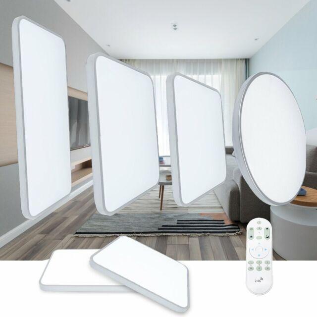 LED Deckenleuchte Ultraslim Deckenlampe Wohnzimmer Dimmbar Badleuchte Küche  IP44
