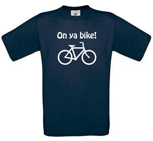 On-ya-bike-t-shirt-Funny-Tour-de-France-BMX-your-Raleigh-tshirt-top-0126