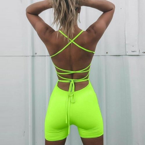 Backless Yoga Set Sports Bra Gym Apparel Underwear Seamless Breathable Tracksuit