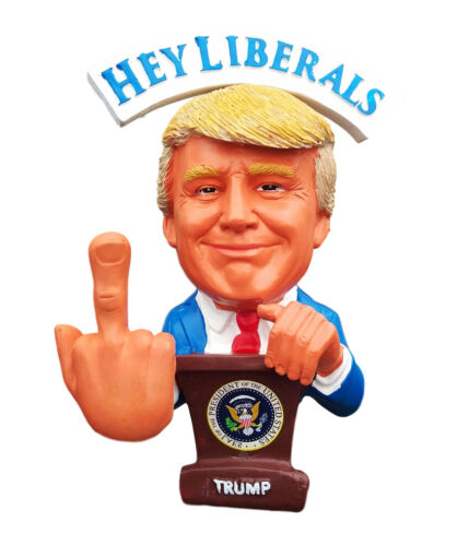 Donald Trump Middle Finger Gift F##K The Liberals & F##K The Media Funny #MAGA