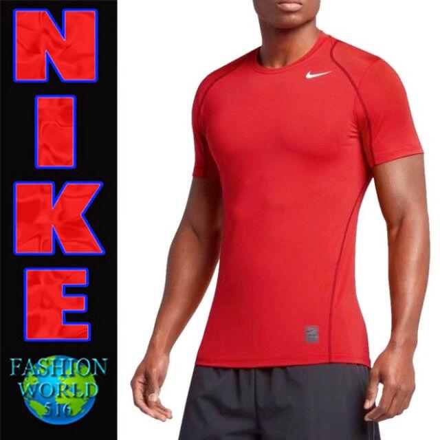 8da036deb Nike Men's Size L Pro Cool Fitted Dri-fit Short Sleeve Training Top ...