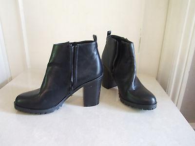 Fabulous T K Maxx Black Block Heel