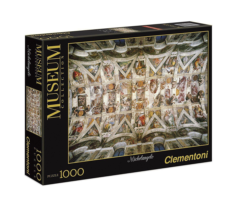 Die decke der sixtinischen kapelle 1000 stck puzzle