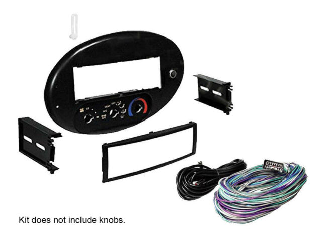 Scosche Fd134030b Stereo Integrated Control Panel 9699 Ford Taurus Rhebay: Cd Changer Wiring Harness Taurus At Gmaili.net