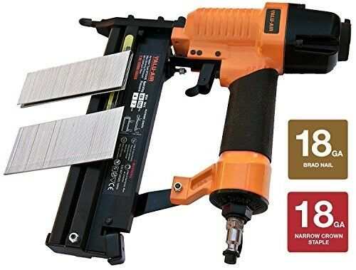 Brad Nailer And Stapler with Carrying Case 18 Gauge Light Weight Aluminum Alloy