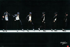 Item 1 Michael Jackson Classic Moonwalk Dance On Stage 24x36 Poster King Of Pop Music