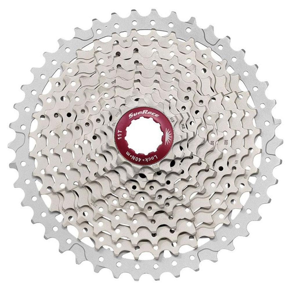 Sunrace Cs Mx8 11 Geschwindigkeit 11-40t Mountainbike Kassette - - - Silber  | New Style  c7ce61