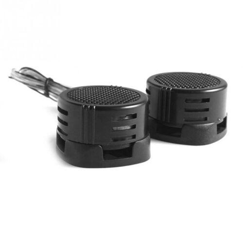 2pcs Car Power Built-in Crossovers Auto Loud  Speakers Dome Tweeter 500w #HA2