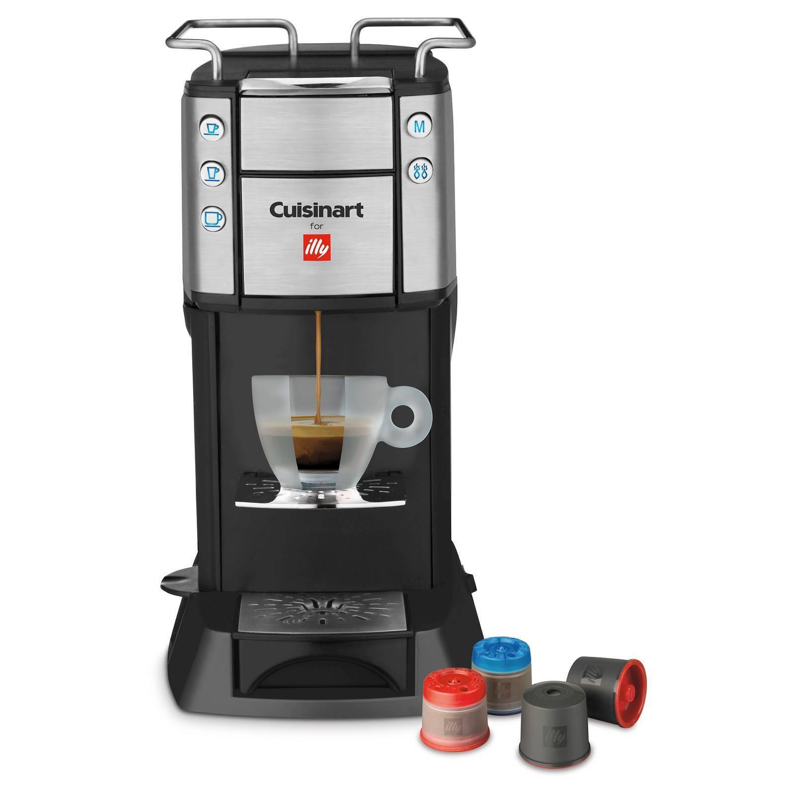 CUISINART FOR ILLY ESPRESSO COFFEE MAKER BUONA TAZZA EM-400 NEW IN BOX