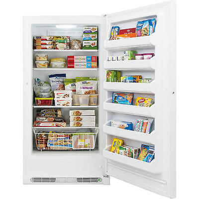 20.2 Cubic Foot Kenmore Upright Freezer, With Energy Star & Lock