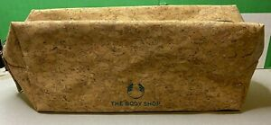 The-Body-Shop-Gift-Bag-Cork-Bag-Only-Empty-Make-Up-Storage-Organic
