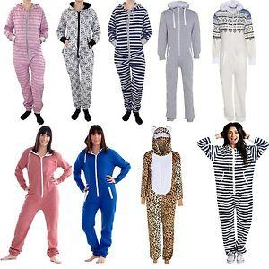 89ad05154ba5 New Unisex Men Women Plain Print Stripe Hooded Aztec All In One ...