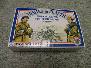 1//32  mint in box 20 Armies in Plastic # 5461 Confederate Infantry-Butternut#2