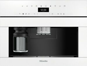Details About Miele Cva 7440 Built In Coffee Machine Stainless Steel White Blackgray