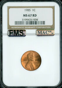 1985-LINCOLN-CENT-NGC-MAC-MS67-RED-FMS-PQ-SPOTLESS