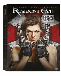 Dvd-Resident-Evil-Collection-Box-Set-6-Film-6-Dischi-NUOVO