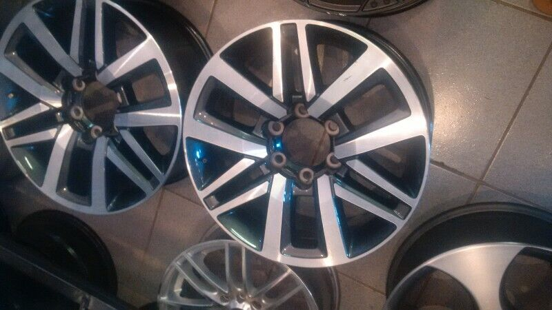 "18"" Toyota Hilux/Fortuner mags to use for spare R2000 each."