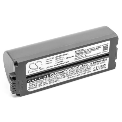 Battery 2000mAh for CANON Selphy CP 500,CP-100,CP-1000,CP-1200,CP ...