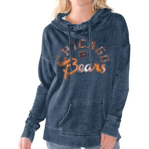19306ec6 Chicago Bears WOMENS Sweatshirt Fade Route Hoodie Touch by Alyssa ...
