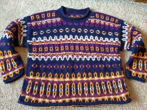 Vintage Handmade Chunky Wool Sweater