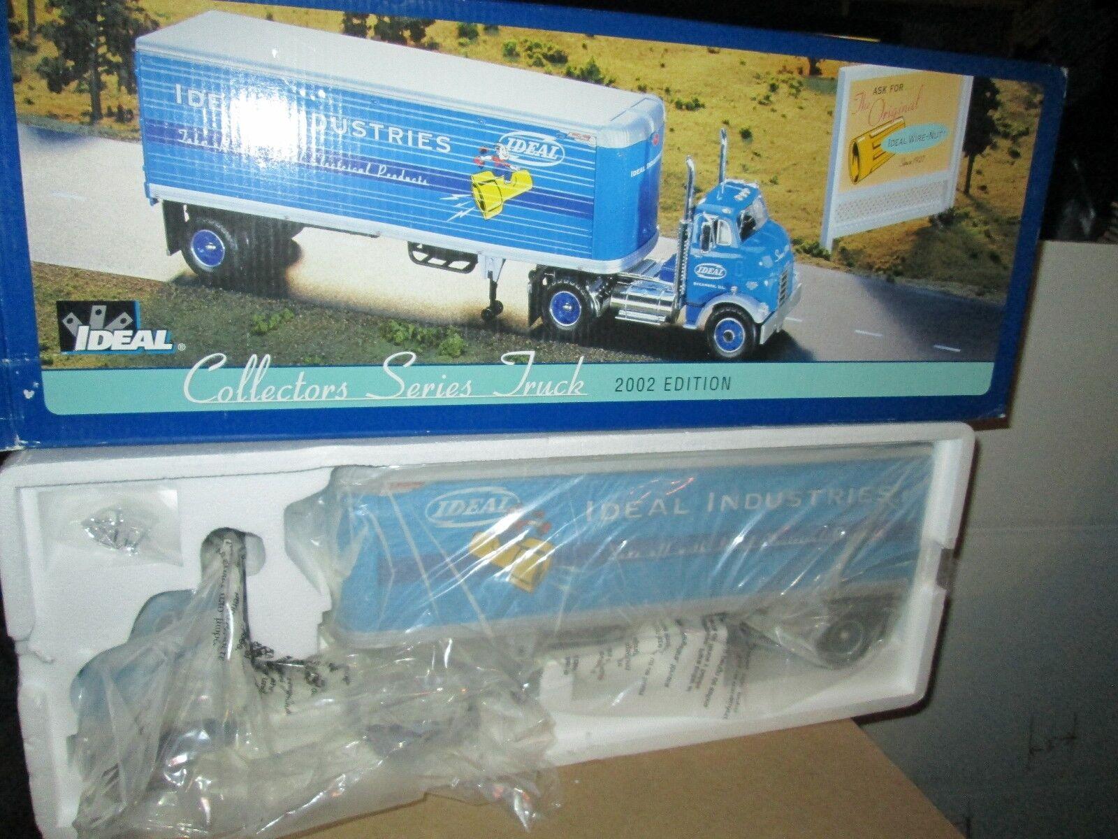 COE 1954 GMC Ertl Ideal 2002 Coleccionistas camión 54 GMC remolque de tractor 1 25 Nuevo En Caja