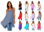 Women-039-s-Sleeveless-Loose-Fit-Flare-Flowy-Swing-Tunic-Top-Dress-S-3X-Made-in-USA thumbnail 1