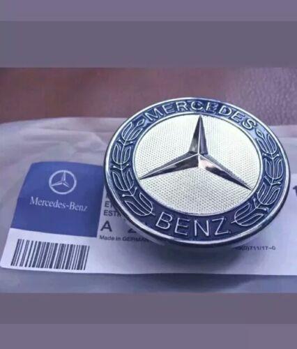 Mercedes Benz Sport Bonnet Badge 57 mm NEW-C E S CLK AMG CLASSE Emblème W204