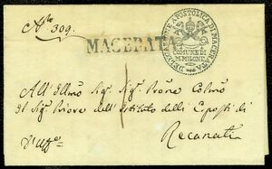 ITALY-1829-Folded-Letter-from-Apostolic-Macerata-PAPAL-Delegation-Ornamental