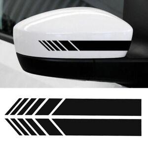2Pcs-Universal-Car-Rear-view-Mirror-Sticker-Racing-Reflective-Decal-Emblem-Black