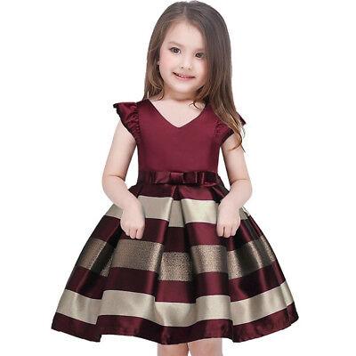 6b226e781 Vestidos Ropa de Moda Para NIÑA Largos Casuales De Fiesta Vestido de  princesa | eBay
