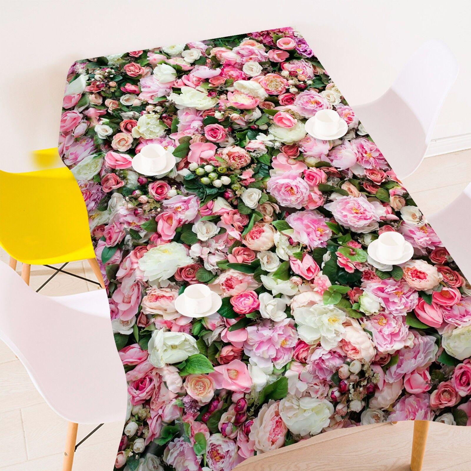 3D Fleur Nappe Table Cover Cloth fête d'anniversaire AJ papier peint Royaume-Uni Citron