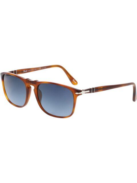 88e24707b0213 Persol Sunglasses PO 3055-s 96s3 Polarized Terra Di Siena  gradient Blue  54mm