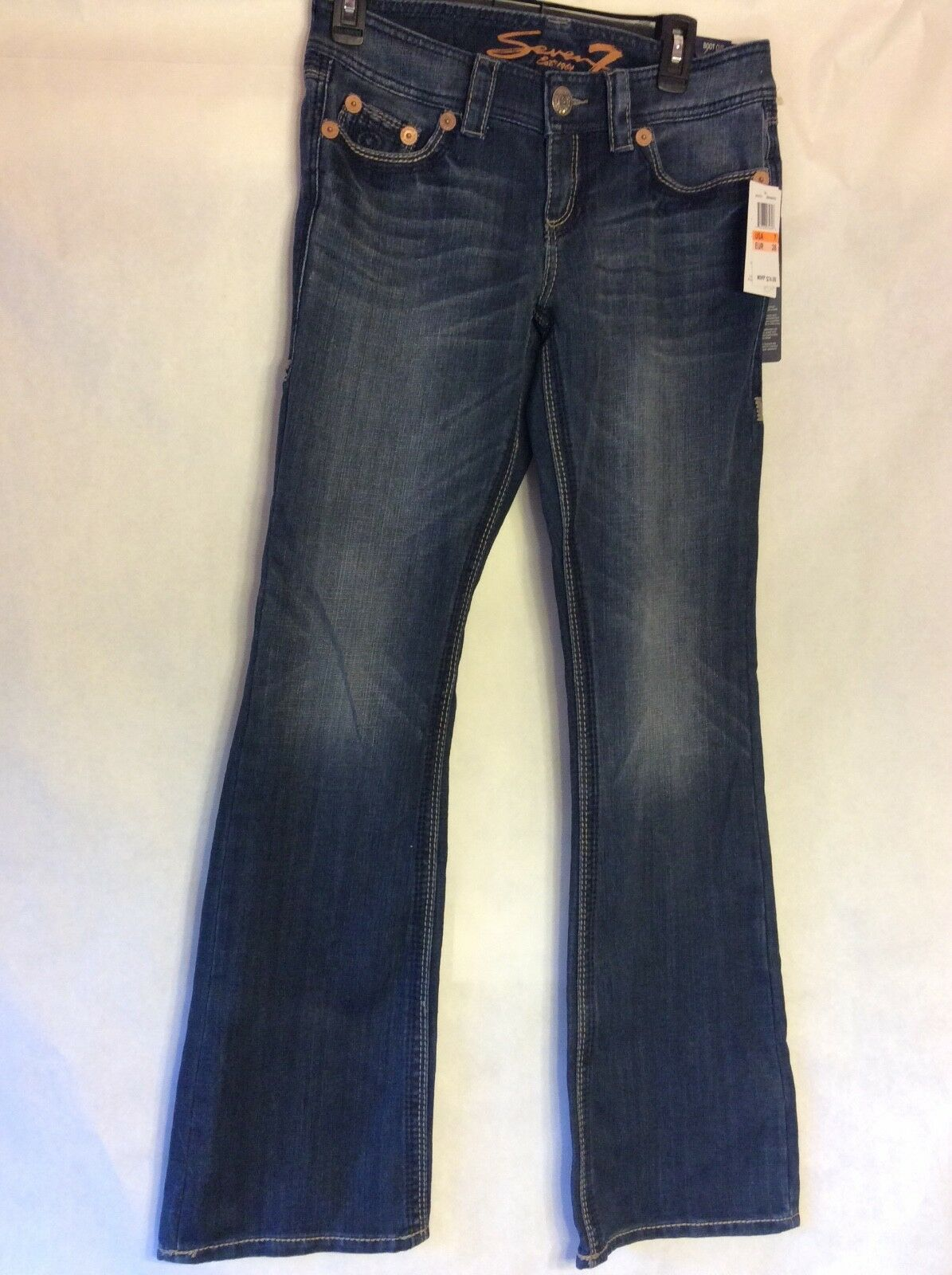 NWT Seven Size 7 Womens Boot Cut Jeans