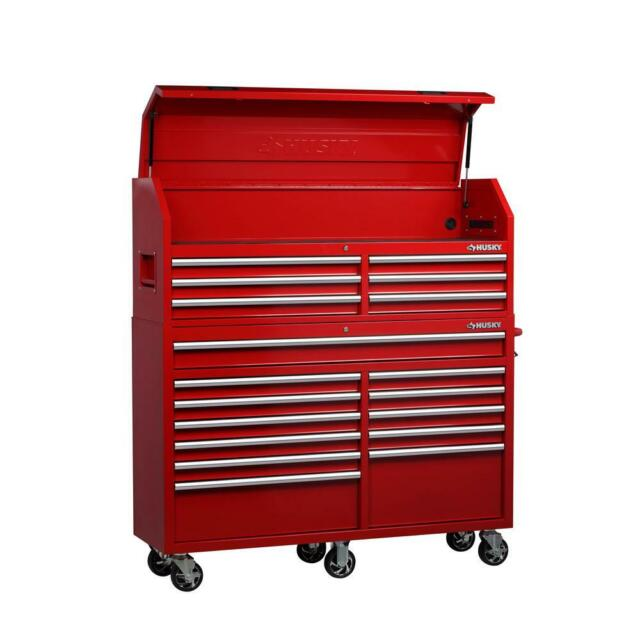 Husky 36 In W 24 5 In D 6 Drawer Roller Cabinet Tool Chest In