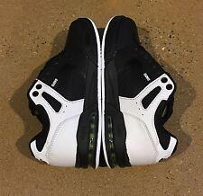 DVS Enduro X Black White Lime Size 7 US Men's BMX DC MOTO Skate Shoes Sneakers