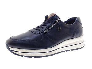 Tamaris Damen Schuhe Sneaker Laufschuhe Freizeitschuhe Gr 40 Blau Leder
