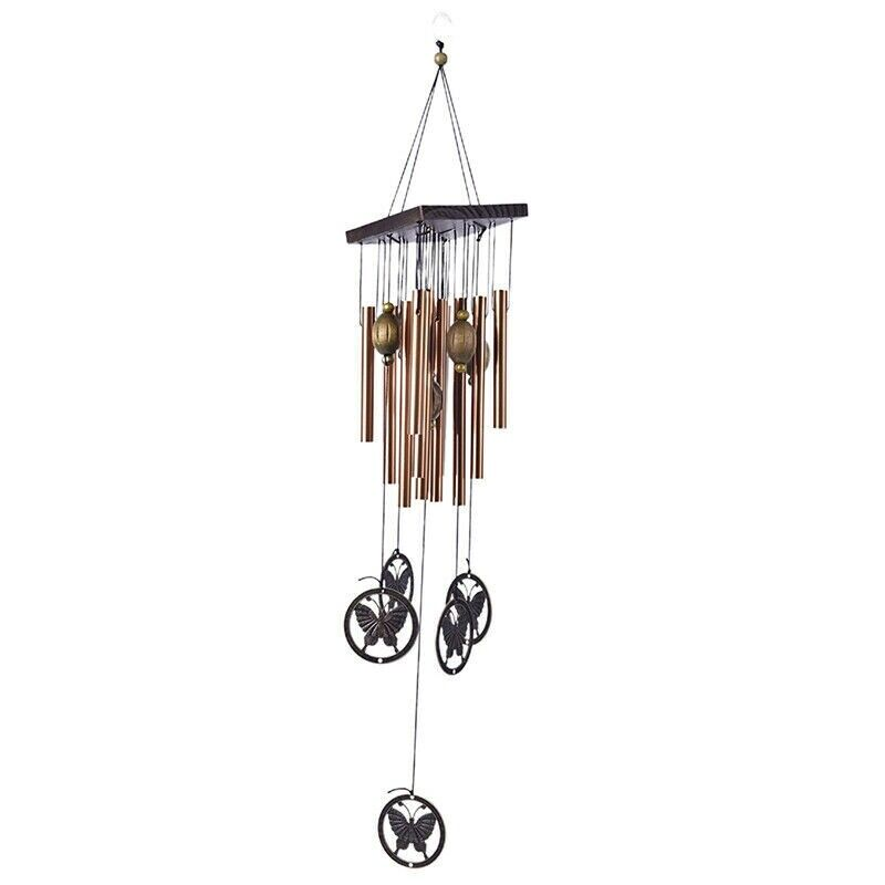 Large Wind Chimes Outdoor Yard Garden Bells Copper Tubes Home Decor Orname