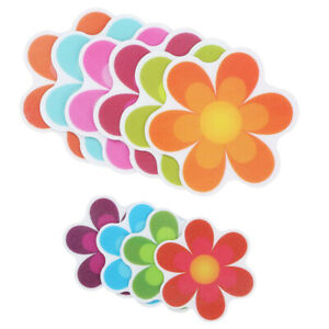 20 Non Slip Flower Stickers Decals Tape Mat for Bath Tub Stairs Shower Appliques