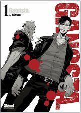 Collection de mangas Gangsta. - 4 premiers tomes - Glénat manga - Gangsta