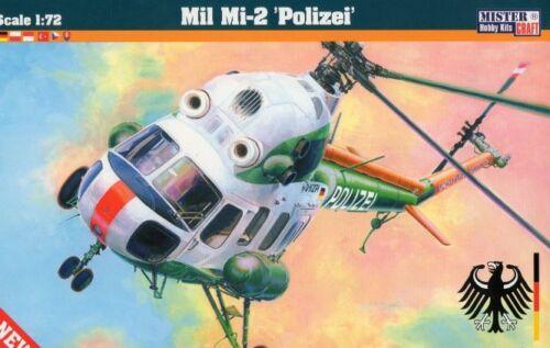 1//72 MASTERCRAFT MIT DEUTSCHE POLIZEI MARKIERUNG PZL//MIL Mi-2 POLIZEI