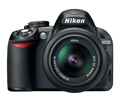 Nikon D3100 Digital SLR & 18-55 VR Lens Kit